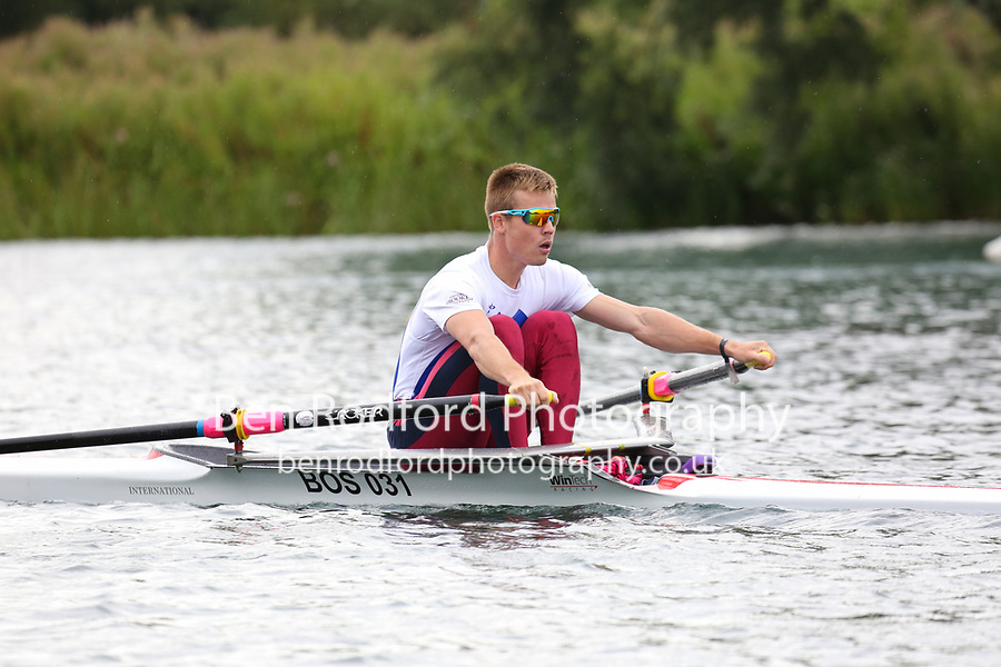 Race: 11  1x (Band 1)  Heat 1<br /> <br /> Peterborough Summer Regatta 2018 - Sunday<br /> <br /> To purchase this photo, or to see pricing information for Prints and Downloads, click the blue 'Add to Cart' button at the top-right of the page.