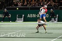 ABN AMRO World Tennis Tournament, Rotterdam, The Netherlands, 18 Februari, 2017, Jean-Julien Rojer (NED), Horia Tecau (Rou)<br /> Photo: Henk Koster