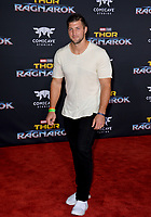 Tim Tebow at the premiere for &quot;Thor: Ragnarok&quot; at the El Capitan Theatre, Los Angeles, USA 10 October  2017<br /> Picture: Paul Smith/Featureflash/SilverHub 0208 004 5359 sales@silverhubmedia.com
