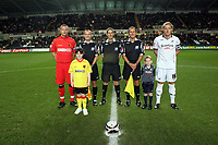 Pictured: Garry Monk of Swansea City <br /> Re: Carling Cup Round Four, Swansea City Football Club v Watford at the Liberty Stadium, Swansea, south Wales, Tuesday 11 November 2008.<br /> Picture by Dimitrios Legakis Photography (Athena Picture Agency), Swansea, 07815441513