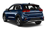 Car pictures of rear three quarter view of 2020 KIA Niro More 5 Door Hatchback Angular Rear