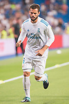 Real Madrid's Nacho Fernandez during XXXVIII Santiago Bernabeu Trophy at Santiago Bernabeu Stadium in Madrid, Spain August 23, 2017. (ALTERPHOTOS/Borja B.Hojas)