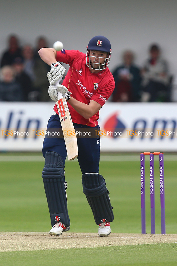 Nick Browne in batting action for Essex during Essex Eagles vs Gloucestershire, Royal London One-Day Cup Cricket at The Cloudfm County Ground on 4th May 2017