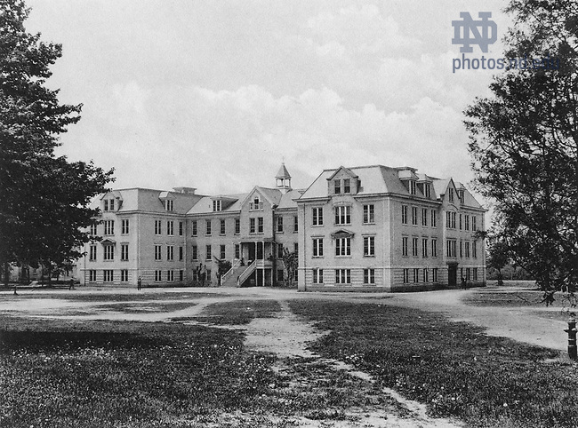 GFCL 48/52:  Badin Hall exterior, c1920..Image from the University of Notre Dame Archives.