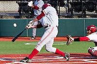 PULLMAN, WA-April 1, 2011:  Stanford player Jake Stewart in a game against Washington State University in Pullman, Washington.  Stanford won the game 4-3.