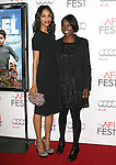 Zoe Saldana and Jacqueline Lyanga attends the AFI Fest 2010 Centerpiece Gala Screening of Abel held at The Grauman's Chinese Theatre in Hollywood, California on November 07,2010                                                                               © 2010 Hollywood Press Agency
