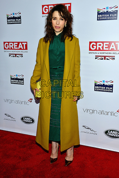 28 February 2014 - Los Angeles, California - Sally Hawkins. GREAT British Film Reception to honor the British Oscar nominees, hosted by Consul General Chris O'Connor at the British Residence. <br /> CAP/ADM/CC<br /> &copy;CC/AdMedia/Capital Pictures