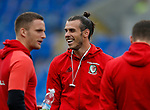 Gareth Bale of Wales before the World Cup Qualifying Group D match at the Cardiff City Stadium, Cardiff. Picture date 2nd September 2017. Picture credit should read: Simon Bellis/Sportimage