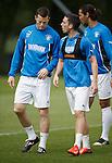 Rangers strikers Jon Daly and Nicky Clark