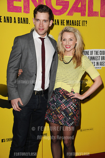 "Nick Hendrix and Jess Ellerby arrives for the ""SVENGALI"" premiere at the Rich Mix Cinema, Shoreditch,  London. 11/03/2014 Picture by: Steve Vas / Featureflash"