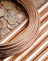 COPPER: WIRE, PIPES & PENNIES