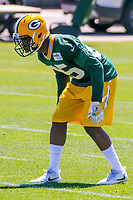 Green Bay Packers safety Marwin Evans (25) during an OTA on June 1, 2017 at Clark Hinkle Field in Green Bay, Wisconsin. (Brad Krause/Krause Sports Photography)