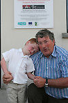 Denis and Adam Craven at the KidKast Summer Show in The TLT...Photo NEWSFILE/Jenny Matthews.(Photo credit should read Jenny Matthews/NEWSFILE)....This Picture has been sent you under the condtions enclosed by:.Newsfile Ltd..The Studio,.Millmount Abbey,.Drogheda,.Co Meath..Ireland..Tel: +353(0)41-9871240.Fax: +353(0)41-9871260.GSM: +353(0)86-2500958.email: pictures@newsfile.ie.www.newsfile.ie.FTP: 193.120.102.198.