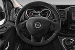 Car pictures of steering wheel view of a 2016 Opel Vivaro Business 4 Door Combi Steering Wheel
