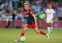 Boyds, MD - Saturday Sept. 03, 2016: Joanna Lohman during a regular season National Women's Soccer League (NWSL) match between the Washington Spirit and the Western New York Flash at Maureen Hendricks Field, Maryland SoccerPlex.