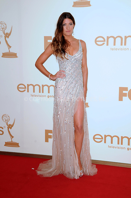 WWW.ACEPIXS.COM . . . . .  ....September 18 2011, LA....Actress Jennifer Carpenter arriving at the 63rd Annual Primetime Emmy Awards held at Nokia Theatre L.A. LIVE on September 18, 2011 in Los Angeles, California....Please byline: PETER WEST - ACE PICTURES.... *** ***..Ace Pictures, Inc:  ..Philip Vaughan (212) 243-8787 or (646) 679 0430..e-mail: info@acepixs.com..web: http://www.acepixs.com