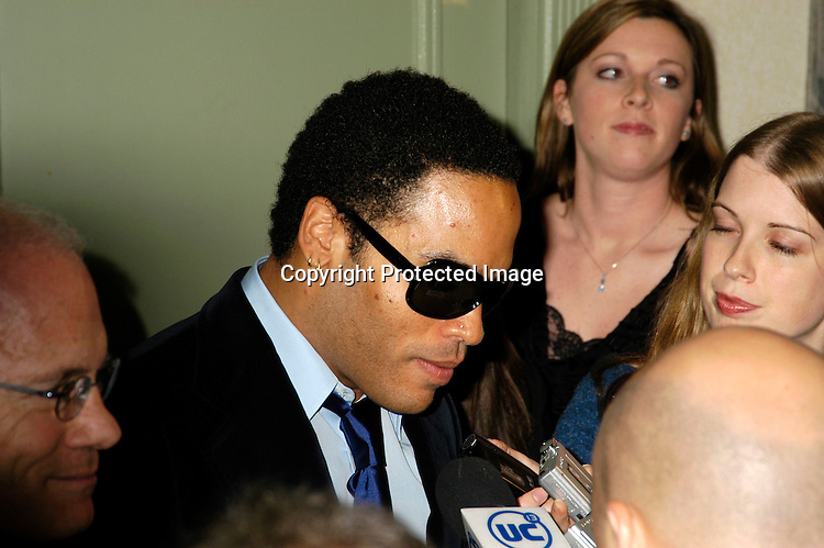 Lenny Kravitz                                 ..at The 32nd Annual International Emmy Awards on ..November 22, 2004 at the New York HIlton. ..Photo by Robin Platzer, Twin Images