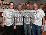 Conor Kelly, Joe Kelly, Declan Connell and Niall Bennett at the launch of St. Colmcilles Movember challenge in The LimeKiln Julianstown. Photo:Colin Bell/pressphotos.ie