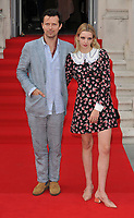 "LONDON, ENGLAND - AUGUST 08: Robert Montgomery and Greta Bellamacina at the ""Pain and Glory"" Film4 Summer Screen opening gala & launch party, Somerset House, The Strand, on Thursday 08 August 2019 in London, England, UK.<br /> CAP/CAN<br /> ©CAN/Capital Pictures"