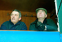 1/2/04          Copyright Pic : James Stewart.File Name : jspa19_spartans.MATCH SPONSOR, SCOTS TORY LEADER DAVID MCLETCHIE, WATCHES FROM THE COMFORT OF THE PORTABLE STAND/CORPORATE BOX....James Stewart Photo Agency 19 Carronlea Drive, Falkirk. FK2 8DN      Vat Reg No. 607 6932 25.Office     : +44 (0)1324 570906     .Mobile  : +44 (0)7721 416997.Fax         :  +44 (0)1324 570906.E-mail  :  jim@jspa.co.uk.If you require further information then contact Jim Stewart on any of the numbers above.........