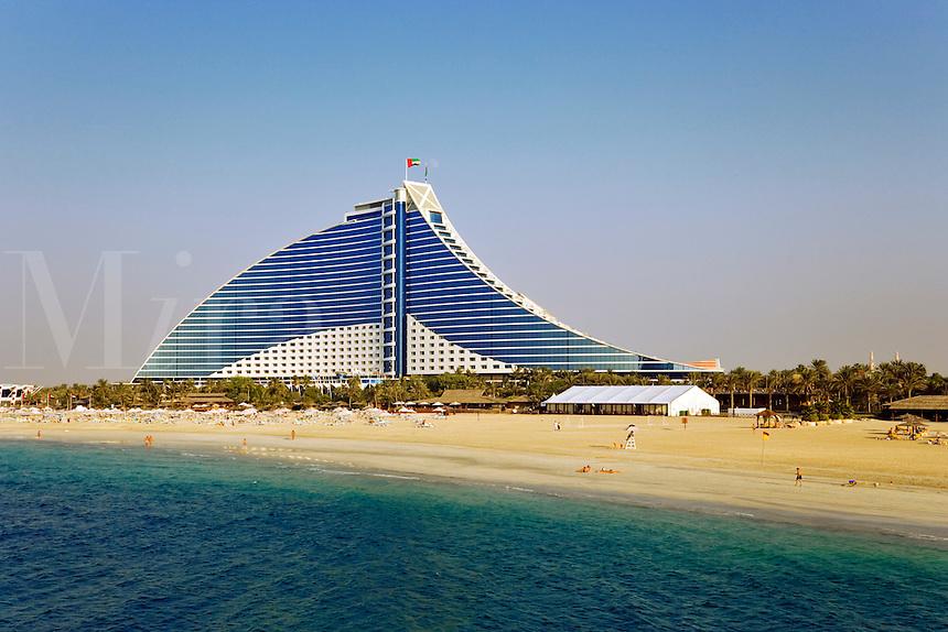 Dubai.  Jumeirah Beach Hotel.