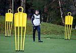30.11.2018 Rangers training: Steven Gerrard