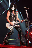 """SUNRISE FL - AUGUST 06: Paul Stanley of KISS performs during """"The End Of The Road World Tour"""" at The BB&T Center on August 6, 2019 in Sunrise, Florida. Photo by Larry Marano © 2019"""