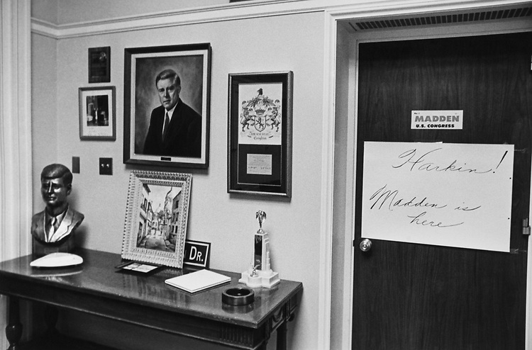Office of Rep. Ray Madden, D-Ind. (Photo by Dev O'Neill/CQ Roll Call)