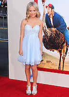 HOLLYWOOD, LOS ANGELES, CA, USA - MAY 21: Emily Alyn Lind at the Los Angeles Premiere Of Warner Bros. Pictures' 'Blended' held at the TCL Chinese Theatre on May 21, 2014 in Hollywood, Los Angeles, California, United States. (Photo by Xavier Collin/Celebrity Monitor)