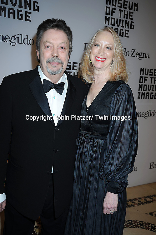 Tim Curry and wife Marcia Hurwitz attending The Museum of the Moving Image Salute to Alec Baldwin on .February 28, 2011 at Cipriani 42nd Street in New York City.