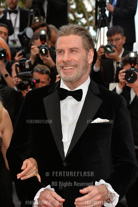 John Travolta at the gala screening for &quot;Solo: A Star Wars Story&quot; at the 71st Festival de Cannes, Cannes, France 15 May 2018<br /> Picture: Paul Smith/Featureflash/SilverHub 0208 004 5359 sales@silverhubmedia.com