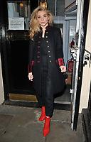 Natalie Dormer Seen Exiting Theatre