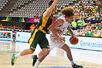07.09.2014. Barcelona, Spain. 2014 FIBA Basketball World Cup, round of 16. Picture show I. Fotu  in action during game between New Zealand   v  Lithuania at Palau St. Jordi