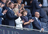 David Beckham and Daniel Levy chairman of Tottenham Hotspur during the Premier League match between Tottenham Hotspur and Crystal Palace at Wembley Stadium, London, England on 14 September 2019. Photo by Vince  Mignott / PRiME Media Images.