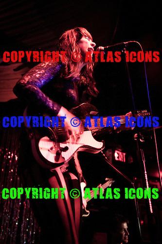 DUM DUM GIRLS; LIVE; BLANK CLUB; SAN JOSE; CA; 2011; PAIGE K. PARSONS