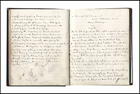 BNPS.co.uk (01202 558833)<br /> Pic: Bonhams/BNPS<br /> <br /> An ominous warning from Captain Scott that no man would reach the South Pole nine years before he died on the return leg of a famous expedition to it has emerged.<br /> <br /> The revelation is in a diary log from midshipman Neville Pepper, a crew member on expeditions to Antarctica in 1903 and 1904, which has emerged for auction. <br /> <br /> In an extract from Pepper's log dated February 3, 1903, it is revealed Capt Robert Scott remarked 'no man will reach the pole as an impenetrable range of mountains are in the way'.<br /> <br /> A.N Pepper's log, which documents every day life on the ship the Morning and includes neat sketches, is tipped to sell for &pound;12,000 when it goes to auction on Feb 1.
