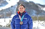 17/02/2018 - Dom Parsons photo call - Main press centre - Alpensia - Korea