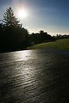 December 5, 2007; Santa Cruz, CA, USA; Early morning sunlight at the lower lawn on the campus of UC Santa Cruz in Santa Cruz, CA. Photo by: Phillip Carter