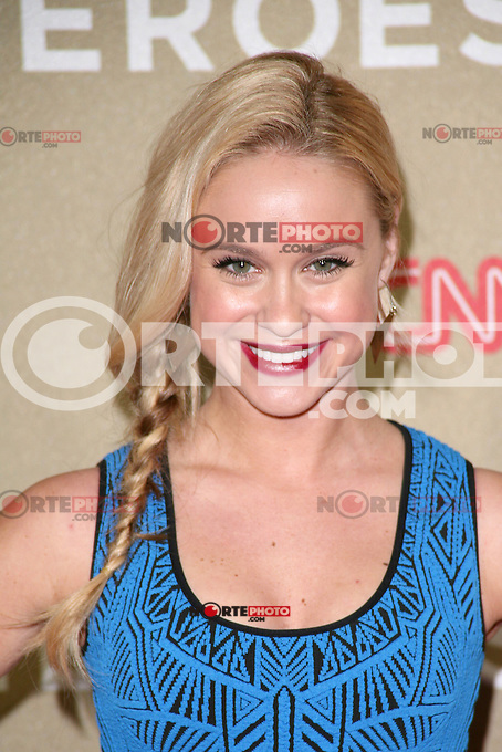 LOS ANGELES, CA - DECEMBER 02:  Becca Tobin at the CNN Heroes: An All Star Tribute at The Shrine Auditorium on December 2, 2012 in Los Angeles, California. Credit: mpi27/MediaPunch Inc. ©/NortePhoto /NortePhoto©