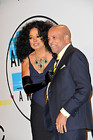 Diana Ross &amp; Barry Gordy at the 2017 American Music Awards at the Microsoft Theatre LA Live, Los Angeles, USA 19 Nov. 2017<br /> Picture: Paul Smith/Featureflash/SilverHub 0208 004 5359 sales@silverhubmedia.com