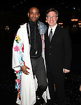 James Brown III & Ira Mont.attending the Broadway Opening Nigh Gypsy Robe Ceremony for 'GHOST' honoring recepient James Brown III at the Lunt-Fontanne Theater on 4/23/2012 in New York City.
