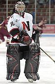 Doug Jewer - The Boston College Eagles and Northeastern University Huskies tied at 1 on Saturday, October 22, 2005, at Matthews Arena in Boston, Massachusetts.