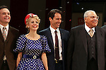 Jefferson Mays, Kerry Butler, Eric McCormack & James Earl Jones.during the Broadway Opening Night Performance Curtain Call for 'Gore Vidal's The Best Man' at the Gerald Schoenfeld Theatre in New York City on 4/1/2012