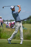 Nicholas Lindheim (USA) watches his tee shot on 8 during round 4 of the AT&T Byron Nelson, Trinity Forest Golf Club, Dallas, Texas, USA. 5/12/2019.<br /> Picture: Golffile   Ken Murray<br /> <br /> <br /> All photo usage must carry mandatory copyright credit (© Golffile   Ken Murray)