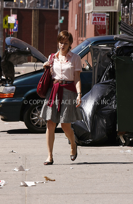 WWW.ACEPIXS.COM . . . . .  ....April 17 2008, New York City....Actress Amy Adams was on set in Long Island City in Queens for a scene from her new movie 'Julie and Julia'.....Please byline: AJ Sokalner - ACEPIXS.COM..... *** ***..Ace Pictures, Inc:  ..te: (646) 769 0430..e-mail: info@acepixs.com..web: http://www.acepixs.com