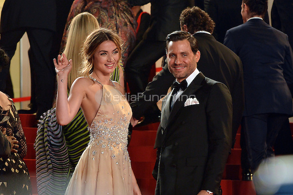 Ana De Armas and Edgar Ramirez at the 'Hands of Stone' screening during The 69th Annual Cannes Film Festival on May 16, 2016 in Cannes, France.<br /> CAP/LAF<br /> &copy;Lafitte/Capital Pictures /MediaPunch ***NORTH AND SOUTH AMERICA ONLY***