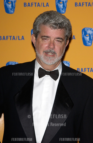 Director GEORGE LUCAS at the 11th Annual BAFTA/LA Britannia Awards at the Beverly Hills Hilton..12APR2002.  © Paul Smith / Featureflash