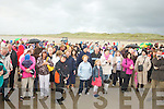 HUNDREDS: Hundreds gather on on Friday evening on Banna Strand to celebrate the Candle of Light, lighting to raise funds for the Recovery haven, Killerisk, Tralee.