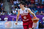 7th September 2017, Fenerbahce Arena, Istanbul, Turkey; FIBA Eurobasket Group D; Latvia versus Turkey; Small Forward Cedi Osman of Turkey in action