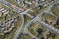 Autobahnausfahrt Billstedt:EUROPA, DEUTSCHLAND, HAMBURG, BERGEDORF 01.04.2019: Autobahnausfahrt Billstedt